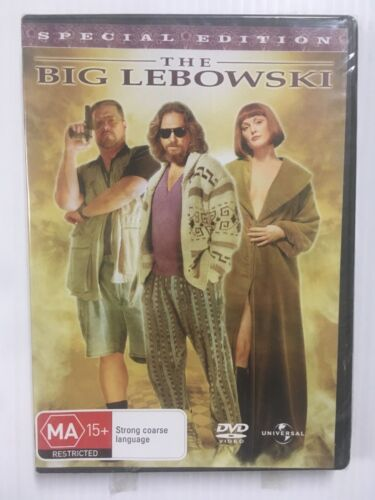 The Big Lebowski Special Edition Comedy Film Movie DVD Jeff Bridges