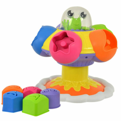 Tomy Sort & Pop Spinning UFO Spin Game Kids/Children Fun Play 10m+/Toddler Toys