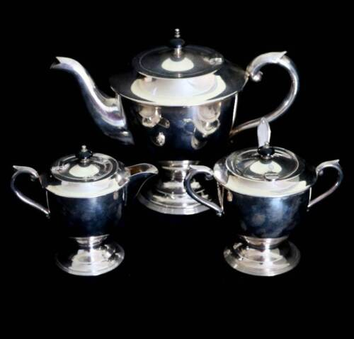 Vintage Goldcraft EPNS silver plated coffee set coffee pot