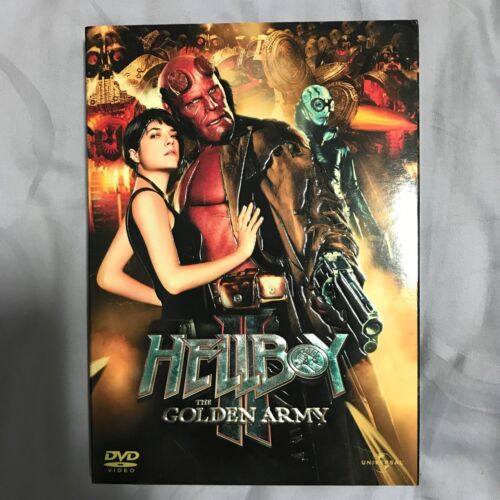 Original DVD Movie - Hellboy The Golden Army