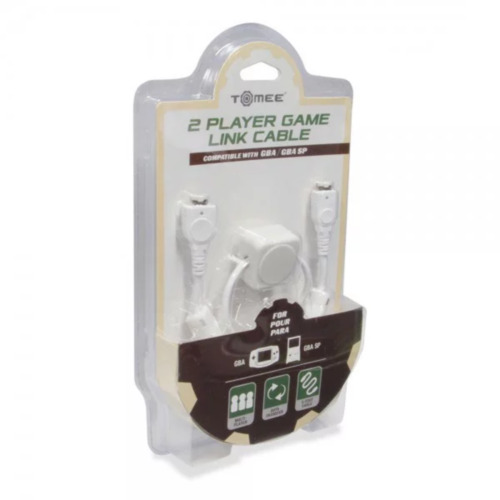 Tomee 2 Player Link Cable White for Gamboy Advance NEW