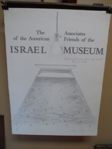 Rare James Rosenquist Signed and # Israel Museum poster