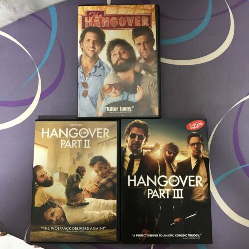 Original DVD - Hangover Trilogy (3 movies)