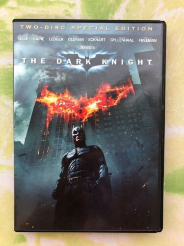 Original DVD Movie - Batman The Dark Knight