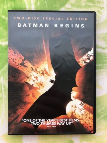 Original DVD Movie - Batman Begins