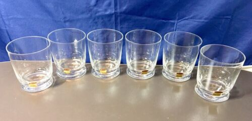 Moser Crystal Mozart Pearls 6 Whisky Tumbler 18288 Bicchieri Whisky NEW IN BOX