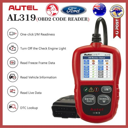 Autel Fault Code Reader Diagnostic Scanner OBD2 Tool AU Ford Holden Toyota BMW