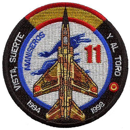Parche Mirage F-1 Ejército del Aire España Spanish Air Force Military Patch ArmyParches - 4725