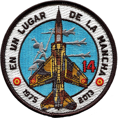 Parche Mirage F1 ALA 14 Ejército Aire Spanish Air Force Military Patch ArmyParches - 4725