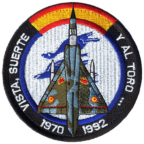 Parche Mirage-III Ejército del Aire España Spanish Air Force Military Patch ArmyParches - 4725