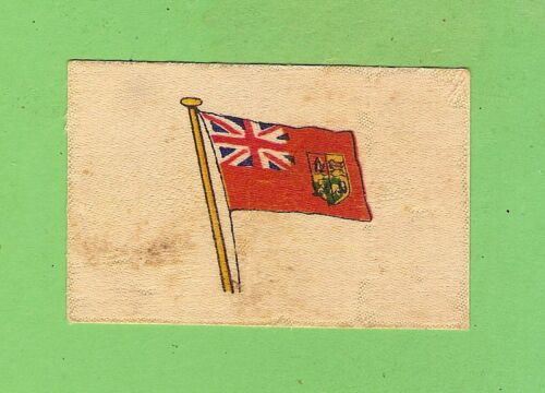 #D358.   WWI FLAGS OF 1914-18 ALLIES SILK  CIGARETTE CARD - SOUTH AFRICA