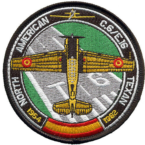 Parche T-6 TEXAN Ejercito Aire España Spanish Air Force Military Patch ArmyParches - 4725