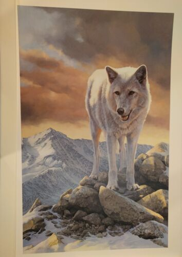 OF MYTH AND MAGIC by Bonnie Marris. Direwolf. Game of Thrones. Print.