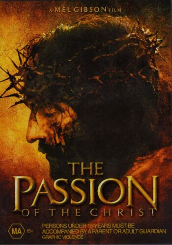 The Passion of the Christ DVD (Jim Caviezel, Monica Bellucci) New