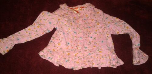 Oilily Floral Patterned Long Sleeved Top Girls Sz 98 Cute