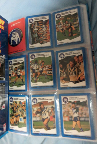 #aa.  Set Of 156  Stimorol  1989  Rugby League Cards