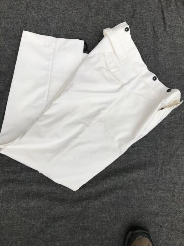 US Army White Cotton Duck Canvas Trousers size 46Reproductions - 156384