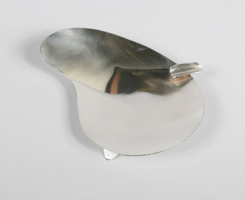 Modernist Mexican Sterling Silver Ashtray by Gosen Mid Century Vintage