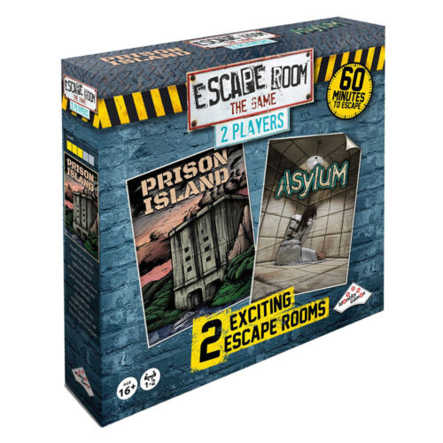 Escape Room The Game 2 Player Board Game NEW