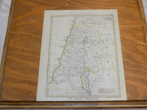 1819 Antique COLOR Map from ATLAS OF OLD WORLD/////PALISTINE, or PALAESTINA