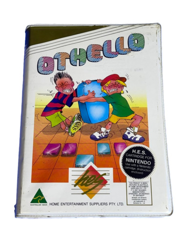Othello Nintendo HES NES Boxed PAL *Complete* Piggy Back
