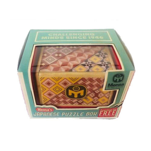 Mensas Japanese Puzzle Box NEW