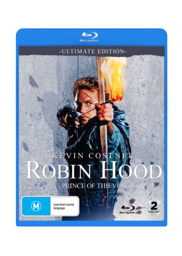 Robin Hood : Prince Of Thieves - Ultimate Edition - Blu-Ray 2 Disc PRE ORDER