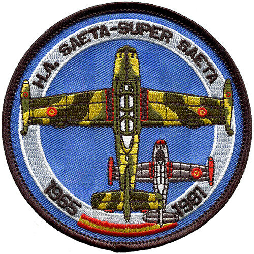 Parche bordado SAETA Ejército Aire España Spanish Air Force Military Patch ArmyParches - 4725
