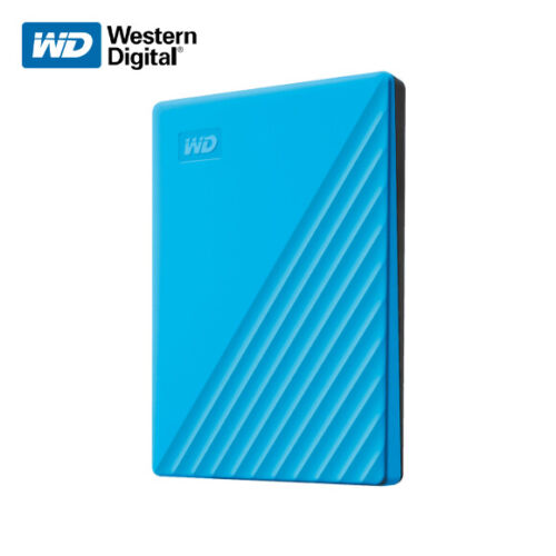 New WD 2TB My Passport Portable External Hard Drive USB 3.2 Gen 1 with Tracking#