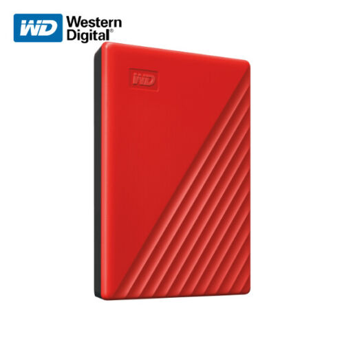 New WD 4TB My Passport Portable External Hard Drive USB 3.2 Gen 1 with Tracking#