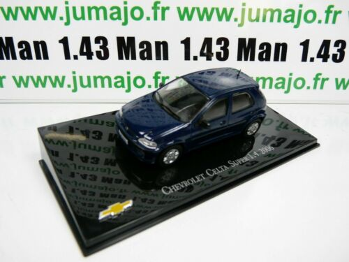 CVT6G voiture 1/43 IXO Salvat BRESIL CHEVROLET : Celta Super 1.4 2006