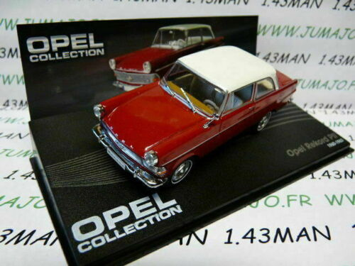 OPE64R voiture 1/43 IXO eagle moss OPEL collection : REKORD P II 1960/1963 rouge