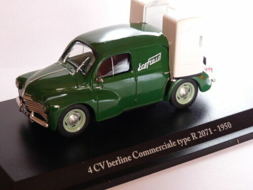 RE56G Voiture 1/43 ELIGOR renault 4CV commerciale TYPE R 2071-1950