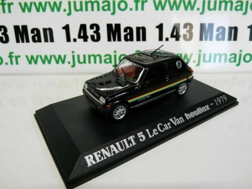 RE2E Voiture 1/43 M6 Universal Hobbies RENAULT 5 Le Car Van Heuliez 1979