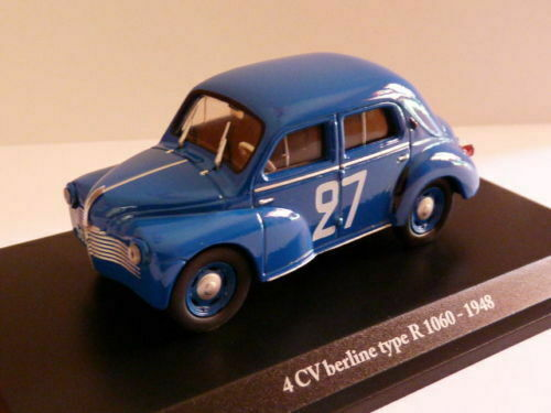 RE57G voiture 1/43 Eligor renault : 4 CV BERLINE TYPE R 1060-1948