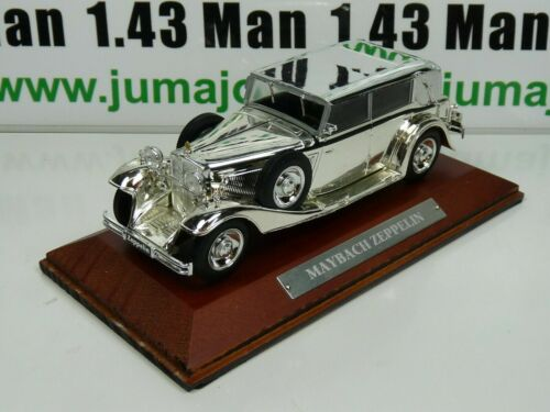 SIL2i VOITURE 1/43 IXO CHROME : MAYBACH ZEPPELIN
