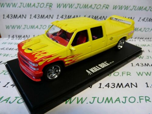 voiture 1/43 GREENLIGHT film KILL BILL vol I & II Pussy wagon Chevrolet C2500 97