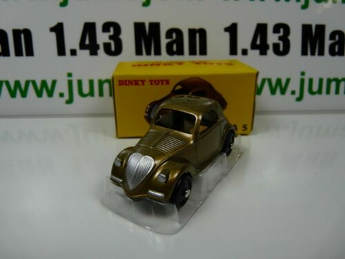 Voiture 1/43 réédition DINKY TOYS DeAgostini : Simca 5 Fiat Topolino bronze