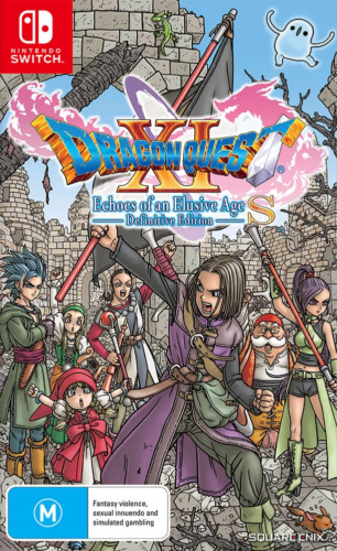 Dragon Quest 11 XI S Echoes of an Elusive Age Definitive Edition Switch Game NEW