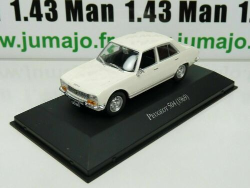 ARG2G Voiture 1/43 SALVAT Autos Inolvidables : Peugeot 504 (1969)
