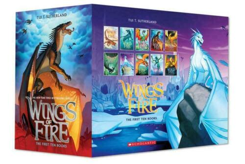NEW 5 Book Set Wings of Fire Boxset Books By Tui T. Sutherland Brand New