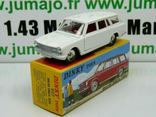 DT14E Voiture réédition DINKY TOYS atlas : 507 Simca 1500 Break