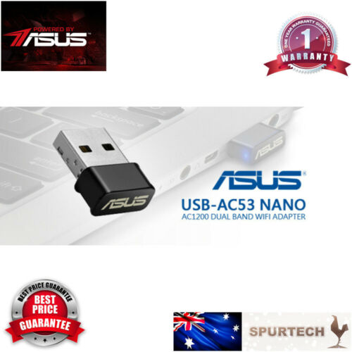 Brand New ASUS USB-AC53 Dual Band AC1300 USB 2.0 WiFi Dongle Adapter