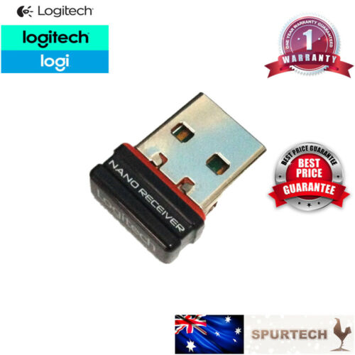 New Logitech USB NANO Dongle Receiver 1 to 1 Unifying Wireless Mouse 2.4Ghz
