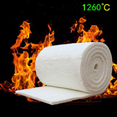 Ceramic Fibre Blanket-1m x 610mm Thermal High Temperature Insulation Carpet Mat