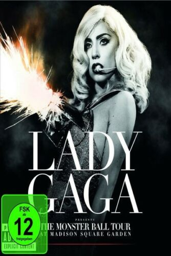 LADY GAGA - THE MONSTER BALL TOUR LIVE BLU-RAY  NEW!