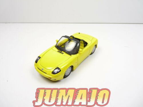 IT22G Voiture 1/43 civile Italienne MAXI CAR : FIAT Barchetta jaune