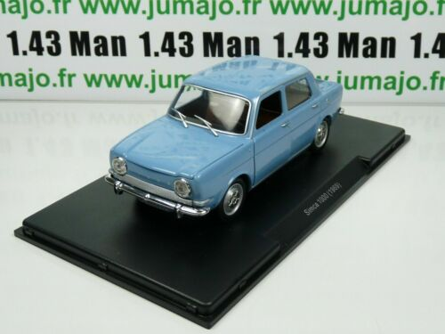 Voiture 1/24 LEO Models : SIMCA 1000 (1969)