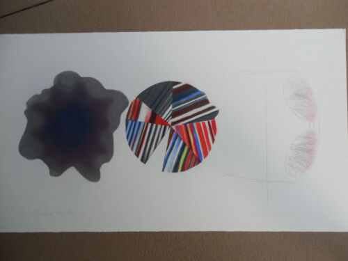 """James Rosenquist """"Federal Spending"""" Original Etching Signed & Numbered WOW !!"""