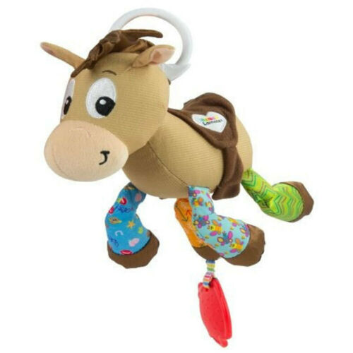 Lamaze 23cm 0m+ Toy Story Clip & Go Carrier/Bag Baby/Infant Soft Toy Bullseye